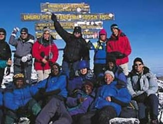Altitude sickness during Mount Kilimanjaro Climb